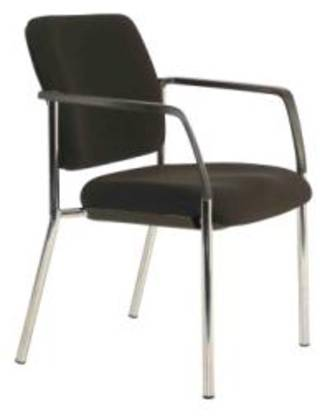 Buro Lindis Visitor Chair 4 Leg with Arms
