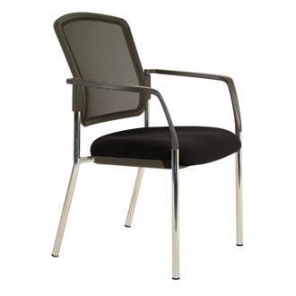 Buro Lindis Mesh Visitor Chair 4 Leg with Arms