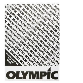 Olympic Layout Pad A2 100 Leaf