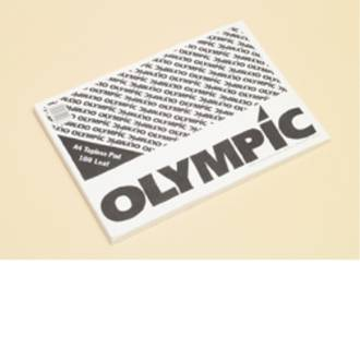 Olympic Topless Pad A4 100 Leaf