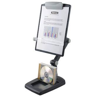 Fellowes® Flex Arm Copyholder with Weighted Base