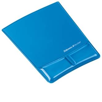 Fellowes Mouse Pad with Gel Palm Support 3 colours