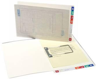 File Rite 2001 Standard File White Inside - 35mm Cap.