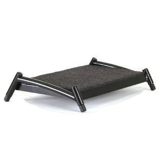 Fluteline Footrest Allevia Small Black