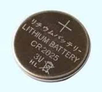 Fujitsu Batteries CR2025 Coin Lithium