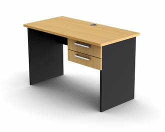 Proceed Desk with 2 Drawers 1200w 600d