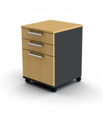 Proceed Mobile 2+1 File Drawer