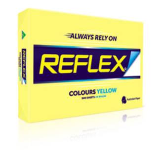 Reflex Copy A4 80gsm Tint Yellow