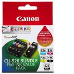 Canon CLI526BUNDLE Value Pack