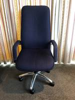 Executive Knee Tilt High Back Chair - Second-hand
