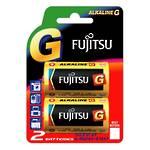 Fujitsu Batteries D Ultra Alkaline 2 Pack