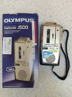 Olympus J500 Microcassette Recorder