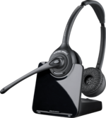 Plantronics CS520 Over-the-head Binaural Wireless Headset