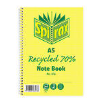 Spirax 812 Recycled Notebook A5