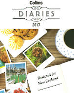 Collins 2017 Diary Catalogue Cover
