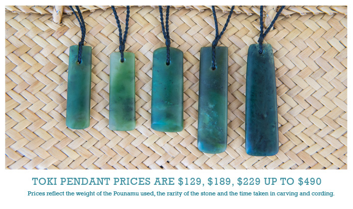 Toki pendant prices are $129, $198, $229 up to $490