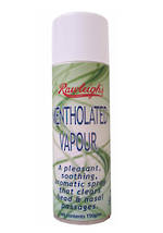 Mentholated Vapour Spray - 150g - apologies but currently out of stock in NZ.  Orders will be placed on backorder.  Approximate