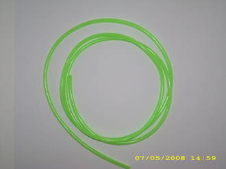 2.5MM Chafing Tube - Green