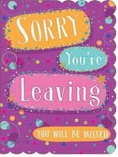 A11355 - Sorry you're leaving