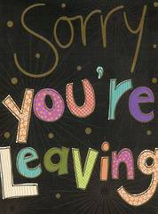 P9854 - Sorry your Leaving