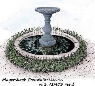 Adwater Mayersbach Fountain