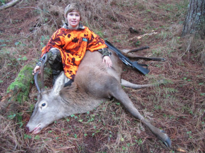 004 Izaak Mirfin First Deer 2014 400