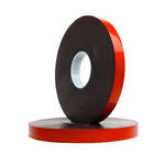 UHB Dark Grey/Black Foamed Acrylic Tape