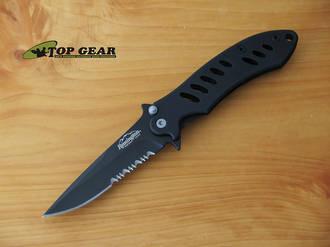 Remington Sportsman F A S T Medium Folding Knife Black 19072