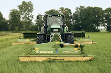 Krone Front Mounted Disc Mower EasyCut