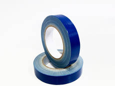 Hand Tearable Cloth Tape Blue 24mm x 25m