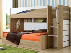 Olive bunk bed