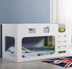 Saturn Bunk Bed White