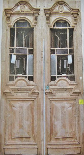Large Stunning French Wooden Doors 5500 Pair Yvonne